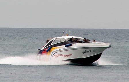 powerboat, ocean, racing boat